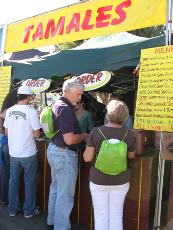 Tamale stand