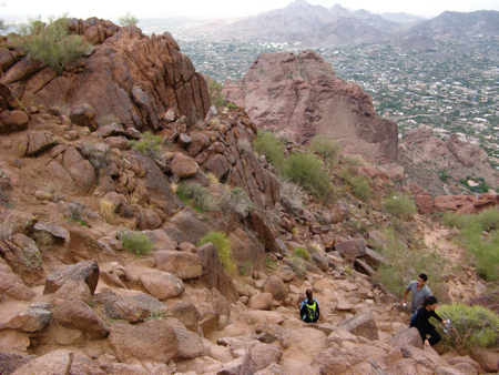 Camelback Mountain trail