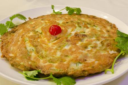 Hoi Tong - Bitter Melon Omelette