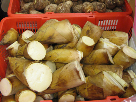 Bamboo at Chinatown Supermarket, Vancouver