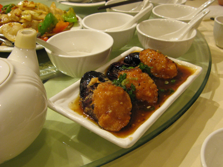 Eggplant with shrimp paste, Jade Dynasty, Vancouver