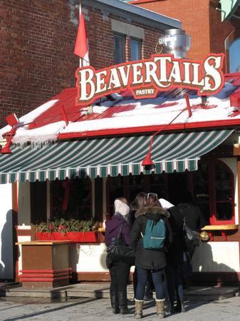 BeaverTails stand at the ByWard Market, Ottawa