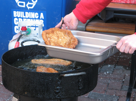 Frying BeaverTails