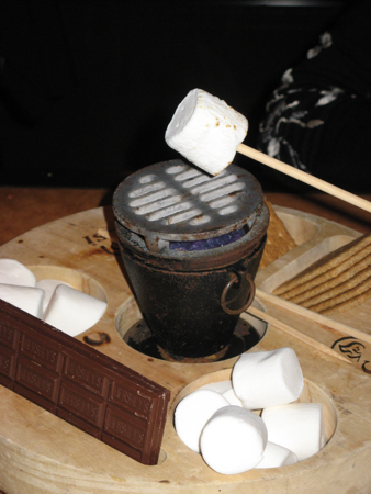 Tableside s'mores at the Arizona Biltmore