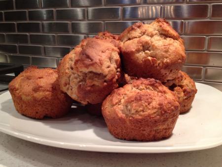 Mom's Sunday Morning Cinnamon Muffins