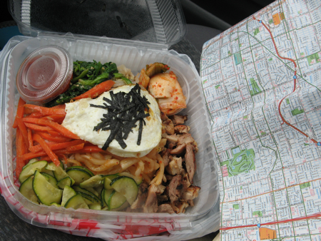 Bibimbap from Taste of Korea, Portland, Oregon