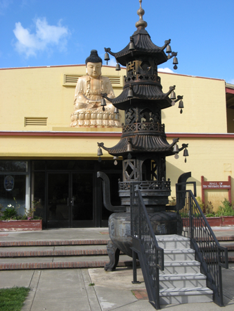 Ten Thousand Buddha Hall, Ukiah, California