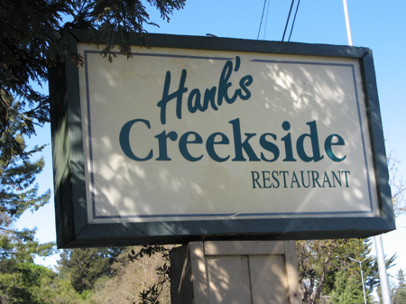 Hank's Creekside Restaurant, Santa Rosa, California