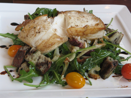 Halibut at La Bicyclette, Carmel, California