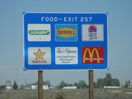Wanderfood Wednesday Sign Spotting Wanderfood