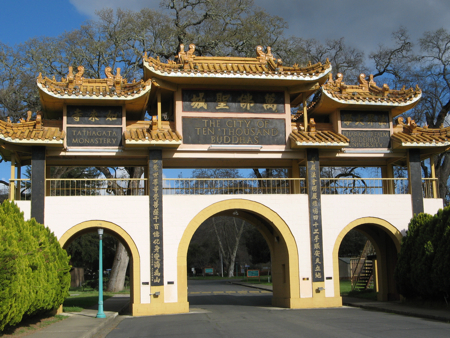 Ten Thousand Buddhas Monastery, Ukiah, California