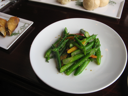 Gai lan at Hotel Grand Pacific (dim sum), Victoria, BC