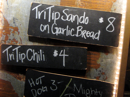 TriTrip sandwiches at the San Luis Obispo Farmers' Market