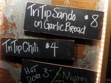 TriTrip sandwiches at the San Luis Obispo Farmers' Market