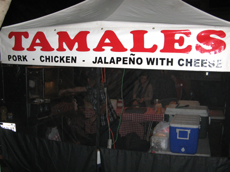 Tamales at the San Luis Obispo Farmers' Market