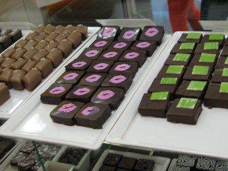 Lipstick chocolates, Sweet Lollapalooza, Edmonton, Alberta