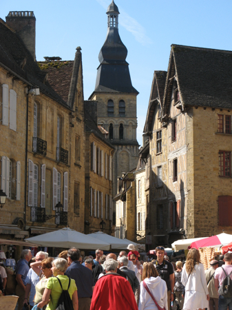 Saturday Market, Sarlat, France