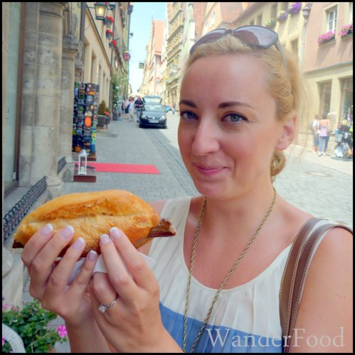 German food in rothenburg
