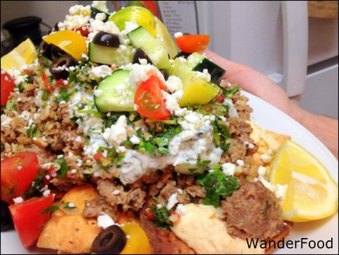 Greek Nachos - WanderFood