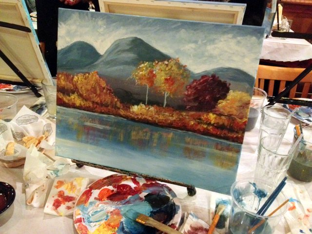 Landscape painting class orange county