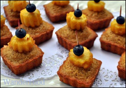 Chez WanderFood Pineapple Pistachio Dessert