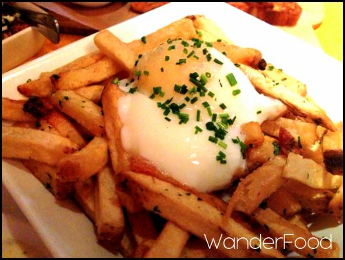 Austin Duck Fat Fries with Poached Egg