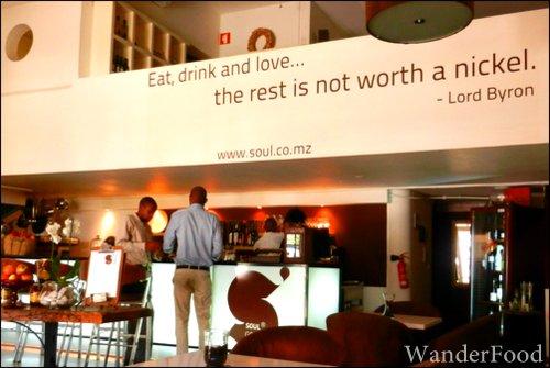 Mozambique cafe