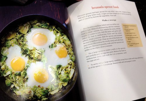 Put an Egg on It brussels sprouts
