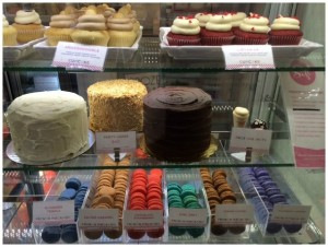 Sift Cupcakes Bay Area Display Case