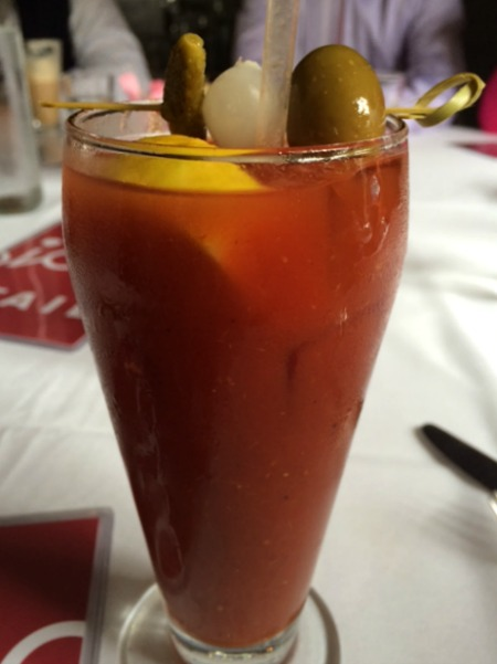 Bloody Mary at Presidio Social Club in San Francisco
