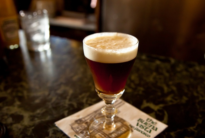 Coffee Around the World Irish Coffee at Buena Vista San Francisco North Beach
