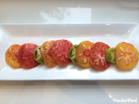 Caprese Salad Heirloom Tomatoes