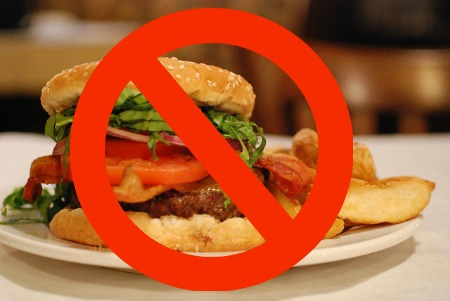 No to Burger and Fries Abroad