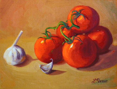 """Italian Sauce"" Painting by Laurel Sherrie"