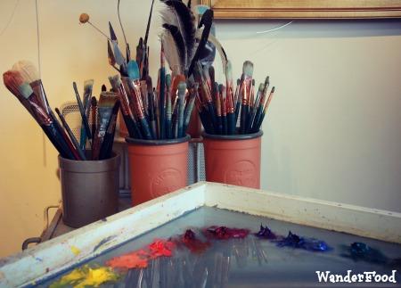 Painting Materials, Laurel Sherrie Studio