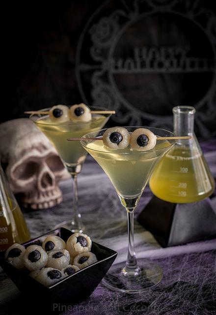 Lychee Eyeball Martini