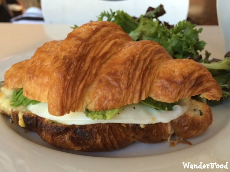 Croque Croissant at Rigolo Cafe, SF