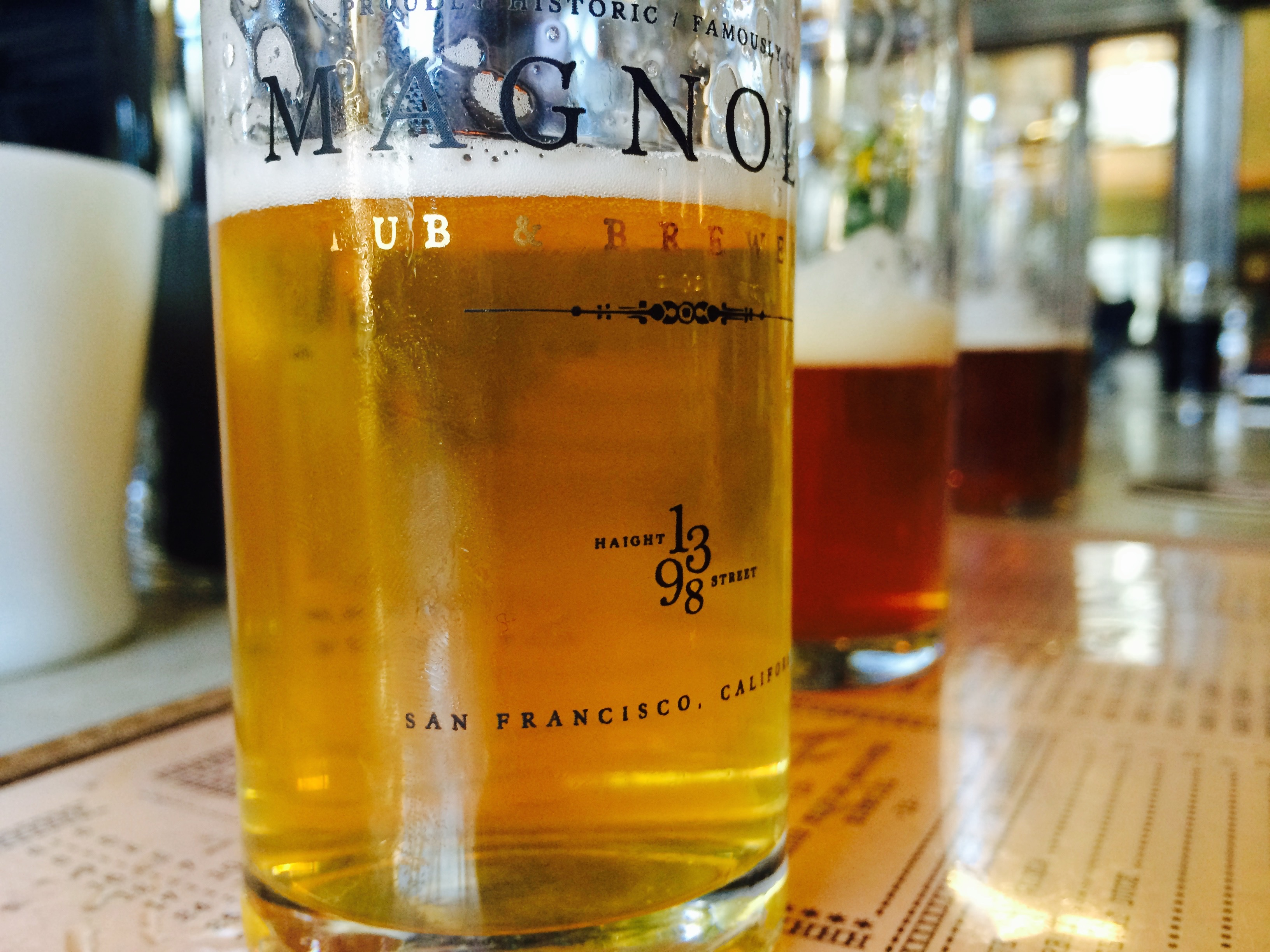 Food at San Francisco Beer Week 2015