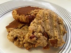 Three Oatmeal Coconut Cookies