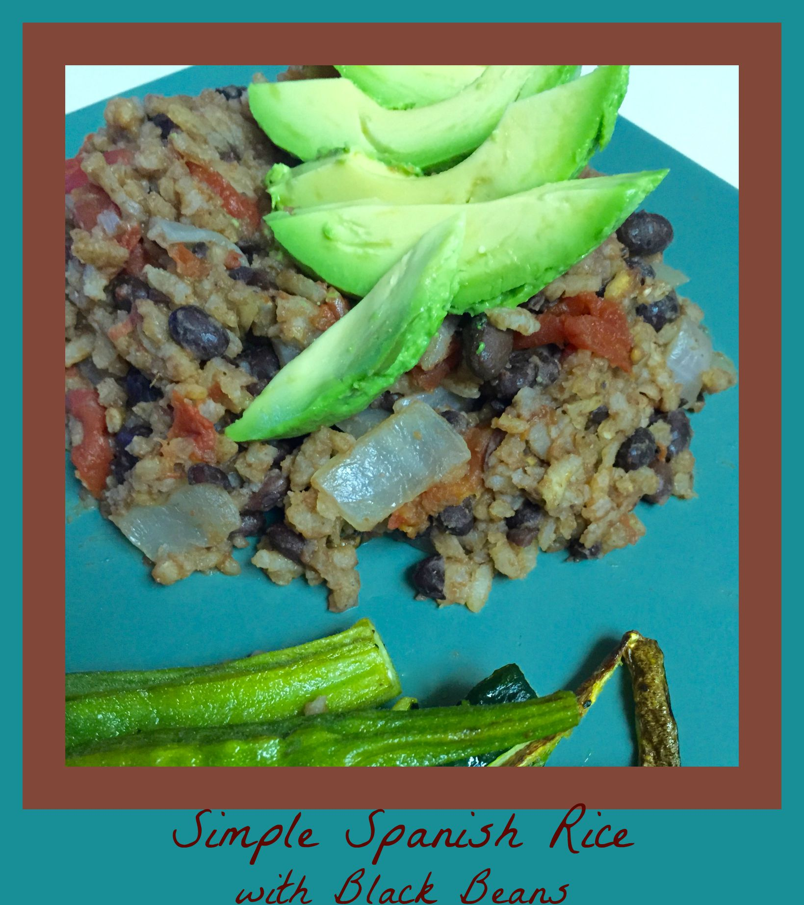 Simple Spanish Rice Recipe with Black Beans