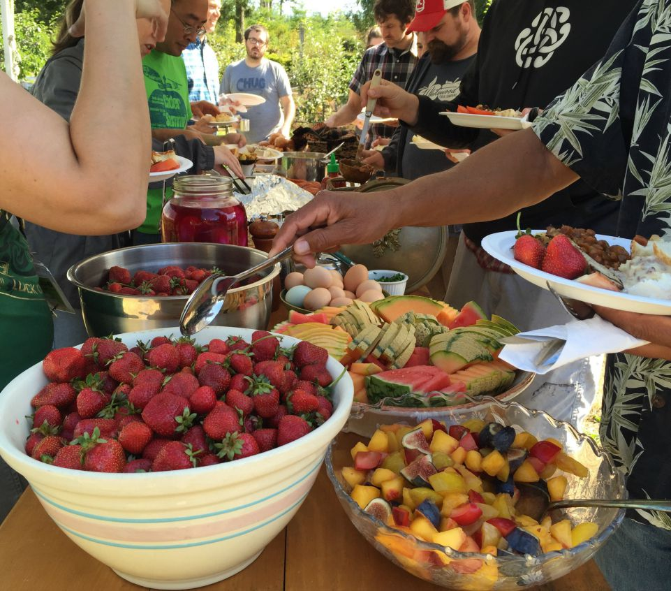 Cider Breakfast in the Orchard – Summer Cider Day