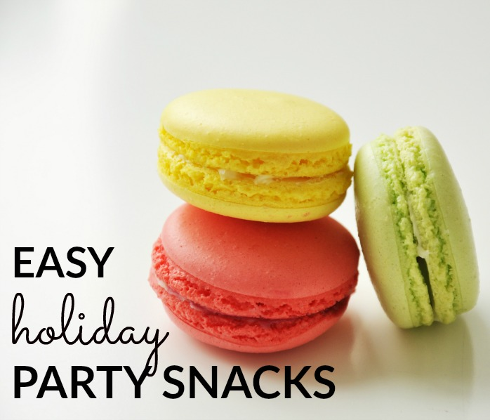 Easy Holiday Party Snacks