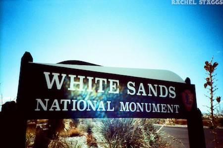 white sands national monument new mexico cross process film