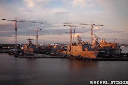 norfolk virginia navy boat harbor sunrise