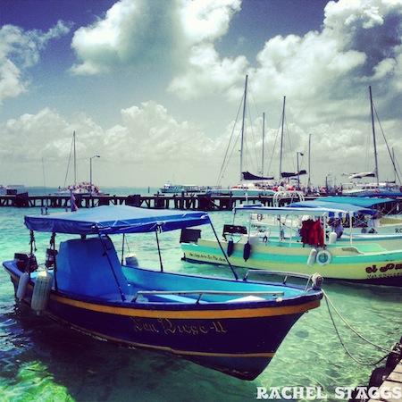 isla mujeres mexico boat dock