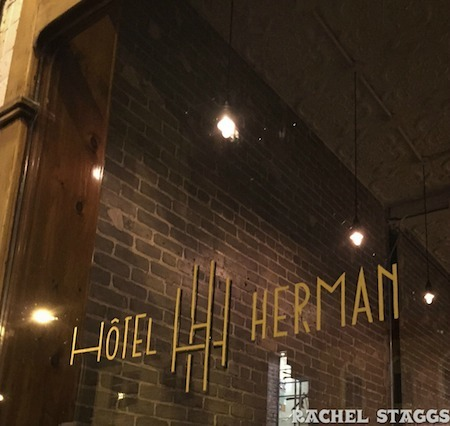 hotel herman sign montreal