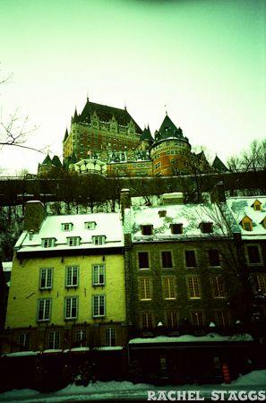 Quebec City Le Chateau Frontenac