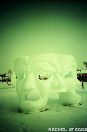 quebec city winter carnival ice sculpture