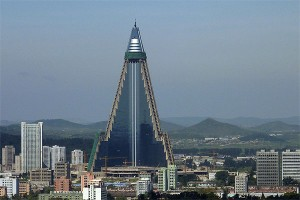 World's Tallest Hotel in North Korea
