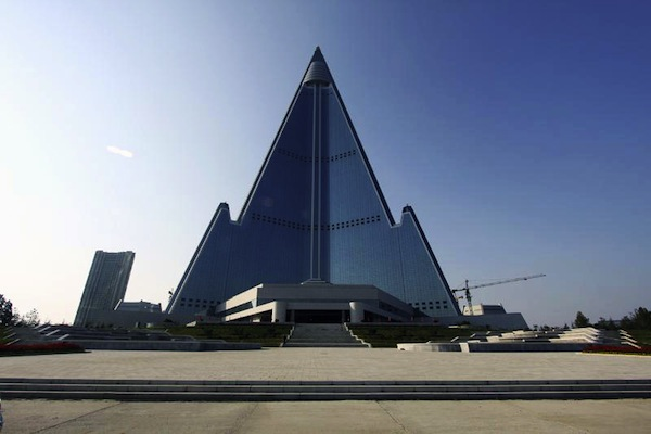 Hotel in North Korea